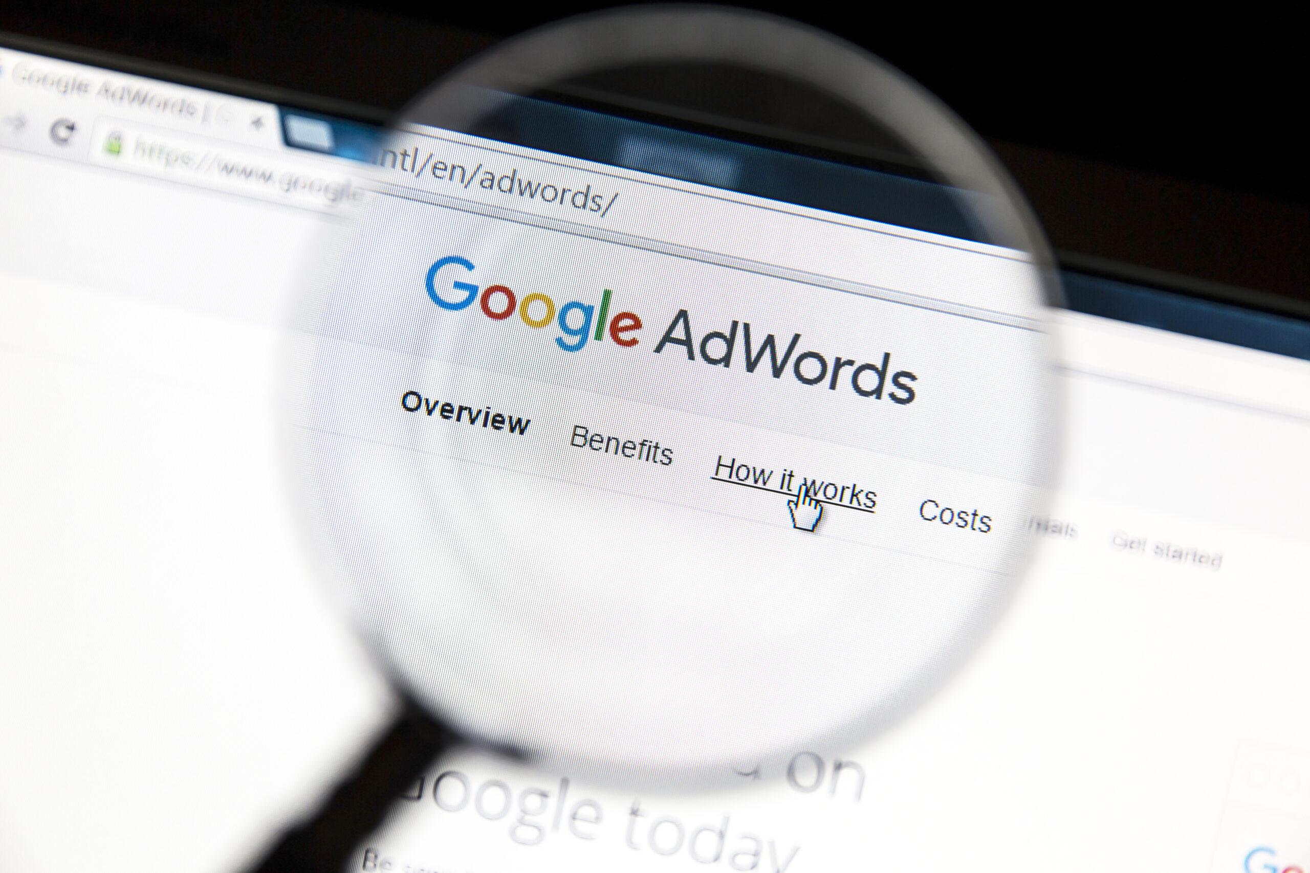 google adwords inutile pour votre site internet