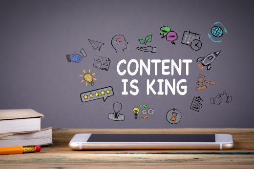 vignette le contenu est roi