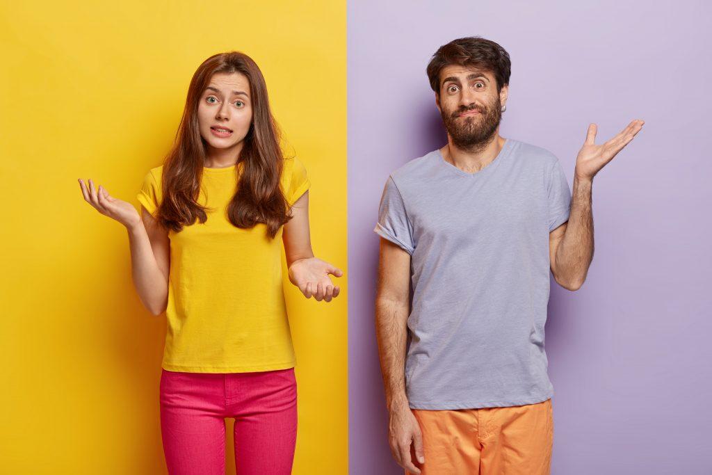 Image d'un couple qui ne connaît pas encore votre agence