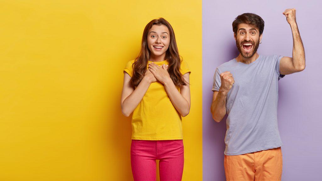 Image d'un couple qui connaît à présent votre agence immobilière