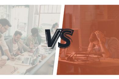 Agence de com vs employé interne